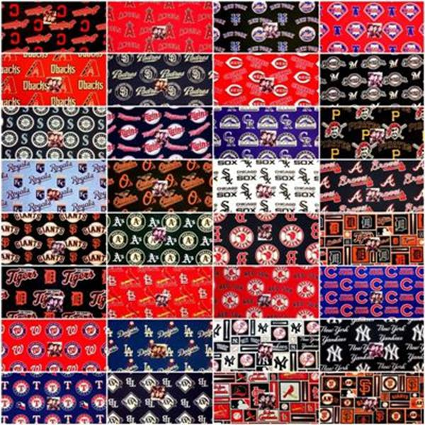 Picture for category MLB Baseball Team Fabrics
