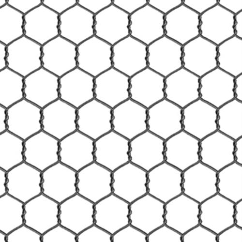 Farm Animals Grey Chicken Wire On White Cotton Fabric