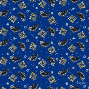 The Polar Express Toss Storybook Movie Cotton Fabric