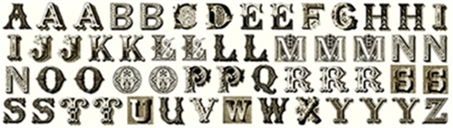 printable alphabet letters cotton fabric fabric panel letter stitch small antique 24056