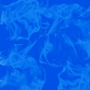 Love Is True Ed Hardy Smoke on Ultramarine Blue Cotton Fabric