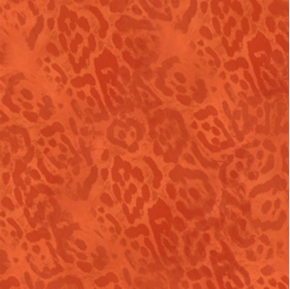 Shalimar Cheetah Skin Tonal Terracotta Cotton Fabric