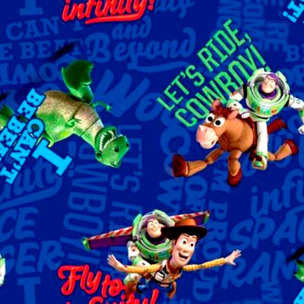 Picture for category Toy Story Fabrics