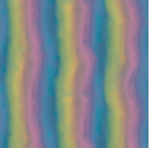 Rainbow Dreams Santoro Dark Pink Blue Green Stripe Cotton Fabric
