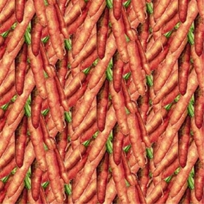 Picture of Carol's Corner Carrots Mia Collection Digitally Printed Cotton Fabric