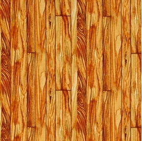 Fall Retreat Wood Planks Golden Wood Boards Cotton Fabric
