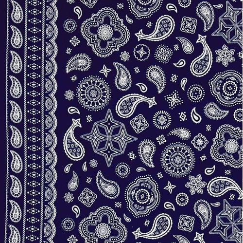 Cotton Fabric Pattern Fabric Cowboy Bandanas Bandana Pattern Awesome Bandana Pattern