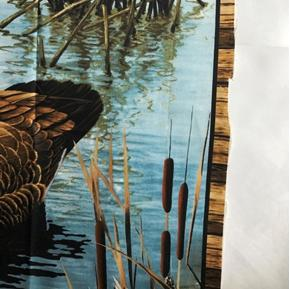 Picture of Imperfect Realtree Hunting Goose and Duck Large Cotton Fabric Panel A