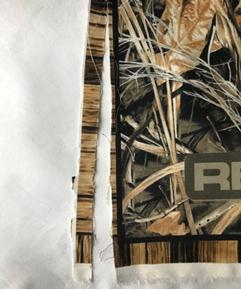 Imperfect Realtree Hunting Goose and Duck Large Cotton Fabric Panel B
