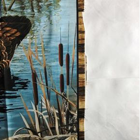 Imperfect Realtree Hunting Goose and Duck Large Cotton Fabric Panel C