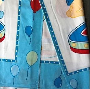 Picture of Imperfect Carousel with Horses Large Cotton Fabric Panel