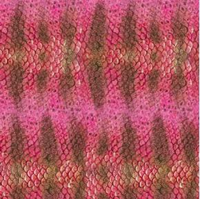 Picture of Catalina Island Pink Red Fish Scales Skin Cotton Fabric