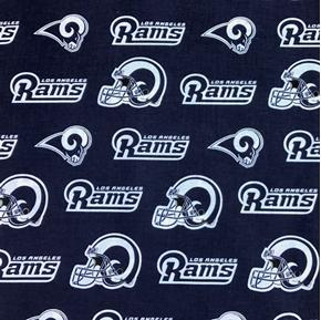 NFL Football Los Angeles Rams 18x29 Cotton Fabric