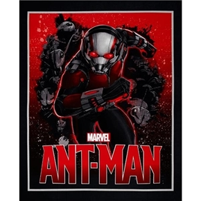 Marvel Avengers Ant Man Superhero Large Cotton Fabric Panel