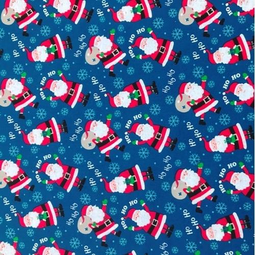 Blue Christmas Fabric Christmas Decore