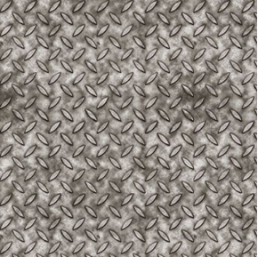 Full Steam Ahead Metal Texture Gray Silver Cotton Fabric