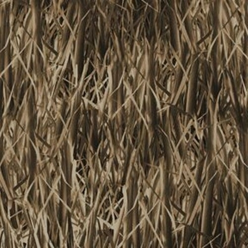 Duck Lake Reeds Grass Natural Textures Earth Cotton Fabric