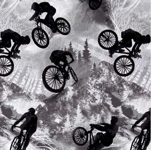 Picture of Allstars Sports Bicycles Bikes Stunt Bike Grey Cotton Fabric