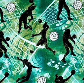 Picture of Allstars Sports Volleyballs Women's Volleyball Action Cotton Fabric