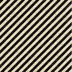 Picture of Full Steam Ahead Black and Cream Diagonal Stripe Cotton Fabric