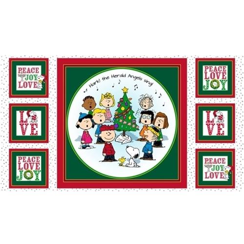 Peace Love Joy Peanuts Caroling