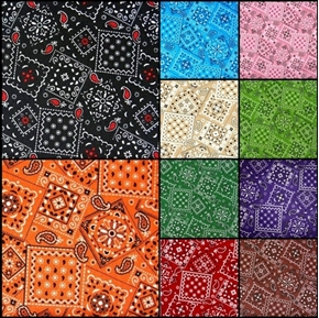 Picture of Blazin Bandana 10 Fat Quarter Cotton Fabric Collection