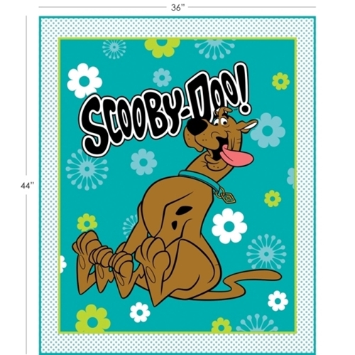 Picture of Scooby-Doo Hanna-Barbera Scooby Large Cotton Fabric Panel