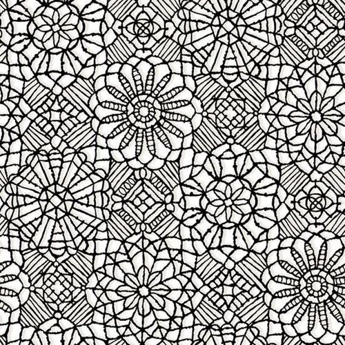 Cotton fabric pattern fabric amazing lace decorative flower lace amazing lace decorative flower lace print black on white cotton fabric mightylinksfo