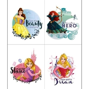 Disney Princess Heart Strong See the Beauty in Everyone Panel Set