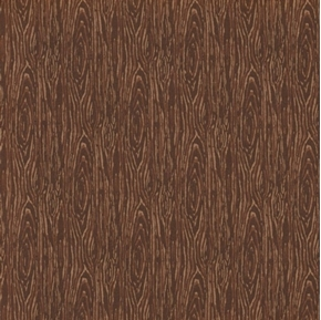 Picture of I'm Board Wood Grain Dark Brown Cotton Fabric