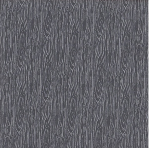 Picture of I'm Board Wood Grain Steel Gray Cotton Fabric