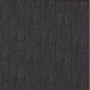 Picture of I'm Board Wood Grain Black Cotton Fabric