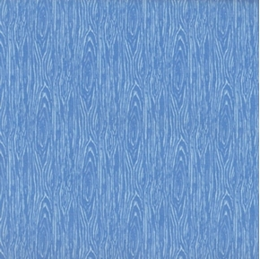 Picture of I'm Board Wood Grain Light Blue Cotton Fabric