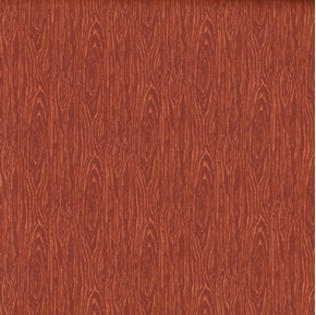 Im Board Wood Grain Rust Cotton Fabric