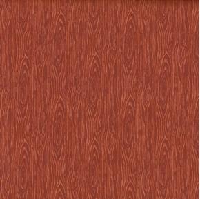 Im Board Wood Grain Rust Cotton Fabric