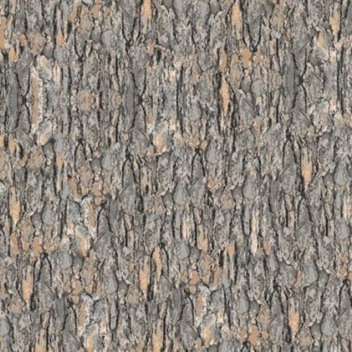 Nocturnal Wonders Tree Bark Gray Bark Cotton Fabric