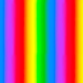 Jesus Loves the Little Children Bright Rainbow Stripe Cotton Fabric