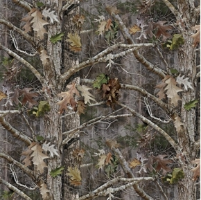 True Timber Kanati Marsh Camouflage Camo Woods Cotton Fabric