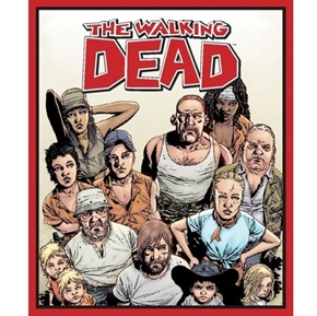 Picture of The Walking Dead Character TV Show Large Cotton Fabric Panel