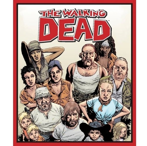 The Walking Dead Character TV Show Large Cotton Fabric Panel