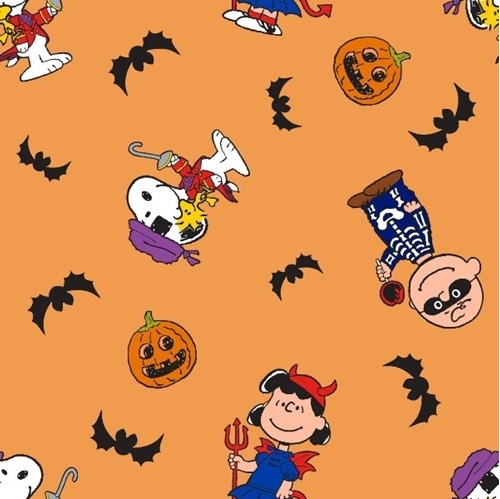 Peanuts Halloween Charlie Brown Trick-or-Treat Costume Cotton Fabric