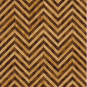 Craftsman Chevrons Brown Wood Grain Chevron Cotton Fabric
