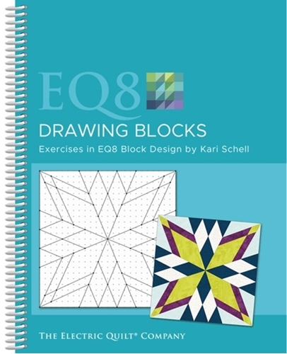 Picture of Electric Quilt Design Software EQ8 Drawing Blocks