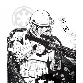 Picture of Star Wars Stormtrooper White Large Cotton Fabric Panel