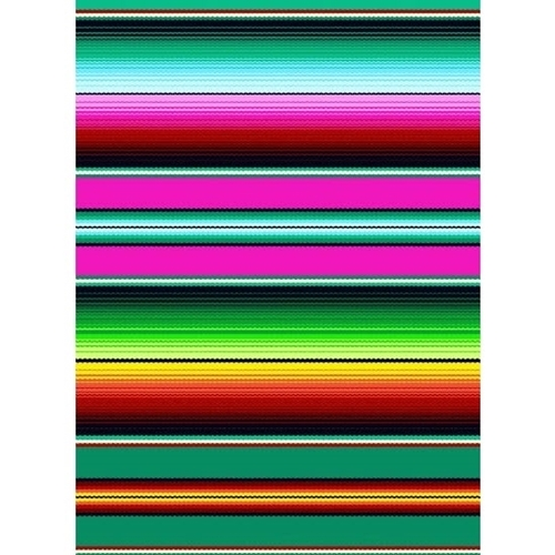 Fiesta Southwest Native American Blanket Stripe Cotton Fabric Fat Quarter