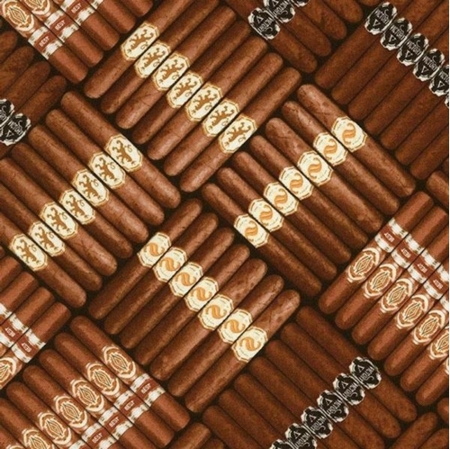 Picture of Cigars Cigar Stacks Victory Best Smoke Stogie Cotton Fabric