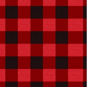 Picture of Christmas Holiday Seasonal Gingham Red Plaid Cotton Fabric