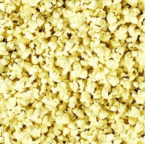 Picture of One of a Kind Popcorn Buttered Corn Snack Cotton Fabric