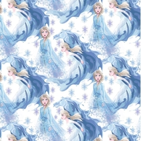 Picture of Disney Frozen 2 Elsa In Her Element Ice Movie Cotton Fabric