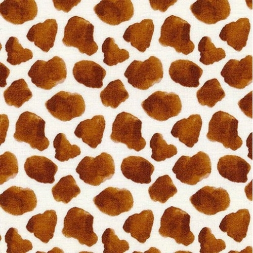 Picture of Silo Cow Skin Print Farm Animals Dairy Cows Spots Cotton Fabric